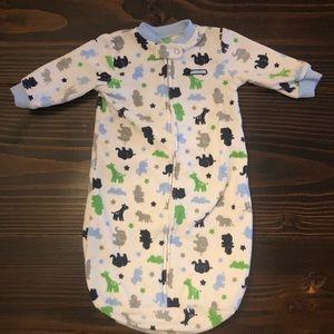 One Size Baby Boy Jungle Mommy Fleece Sleep Sack